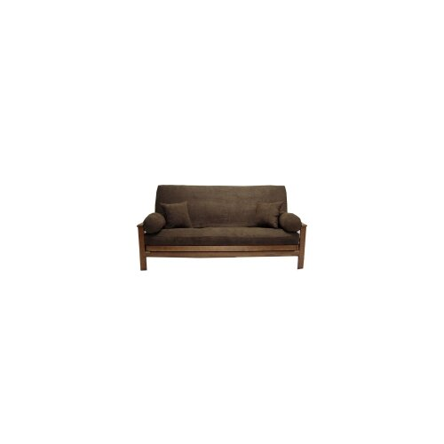 Blazing Needles Micro Suede Java Futon Cover Set
