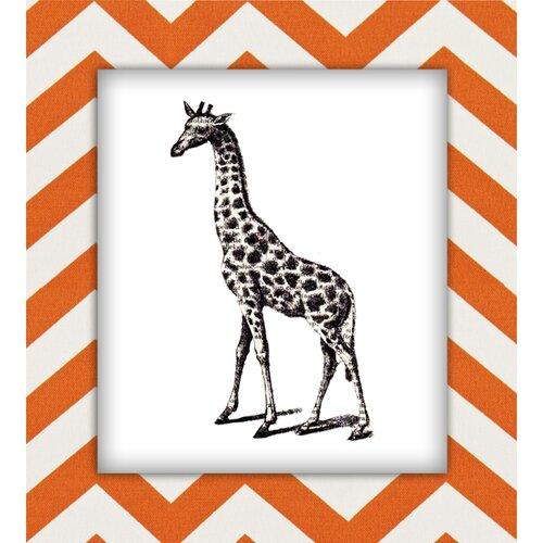 Giraffe Graphic Art on Canvas
