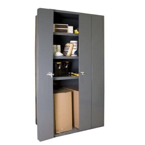 Bi fold door cabinet wayfair for Bi fold doors for kitchen cabinets