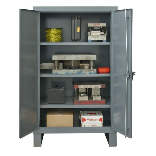 Pre assembled storage cabinet wayfair for Already made cabinets