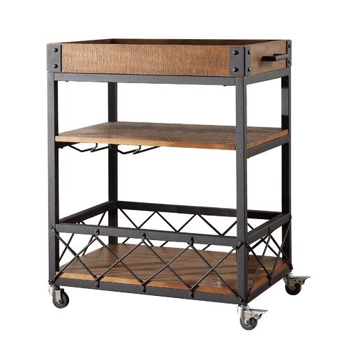 Industrial Rolling Kitchen Cart: Industrial Kitchen Cart