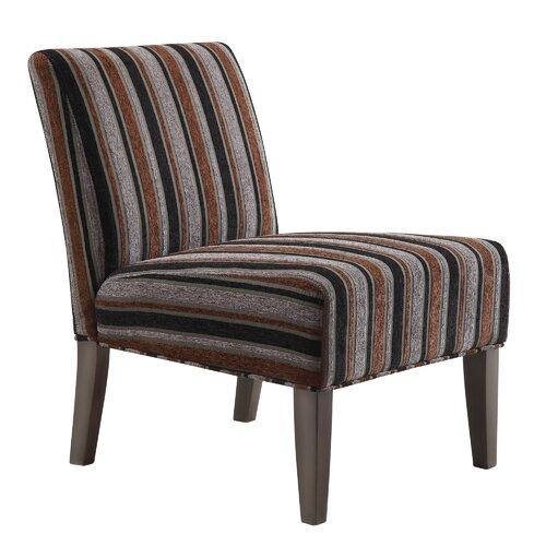 Novella Stripe Print Slipper Chair