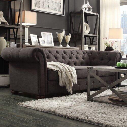 Carthusia Tufted Button Sofa