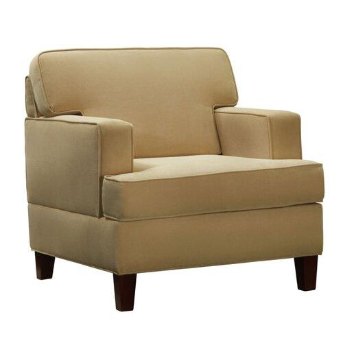 Lauder Microfiber Arm Chair