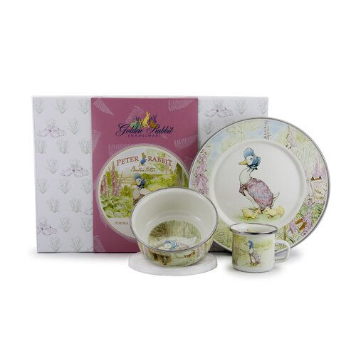 Jeremy Fisher Children's 3 Piece Place Setting
