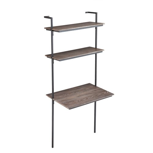 holly martin haeloen leaning desk reviews wayfair. Black Bedroom Furniture Sets. Home Design Ideas