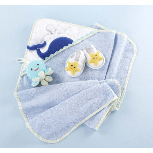 "Baby Aspen ""Beach Buddies"" 3-Piece Deep Sea Gift Set"