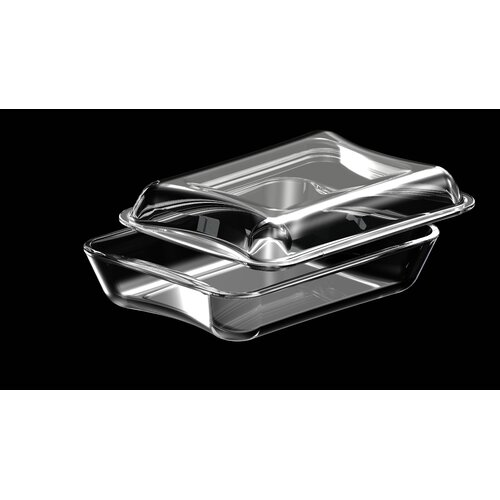 Exclusive Borosilicate Glass Rectangular Casserole