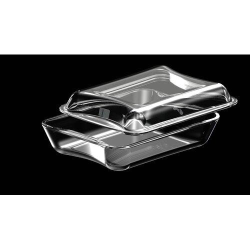 Exclusive Borosilicate Glass Rectangular Casserole