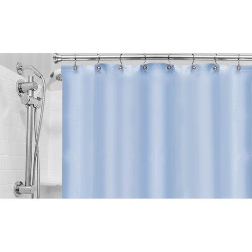 Carnation Home Fashions Vinyl Hotel Shower Curtain Liner Reviews Wayfair