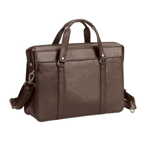 Bellino The Insider Leather Laptop Briefcase