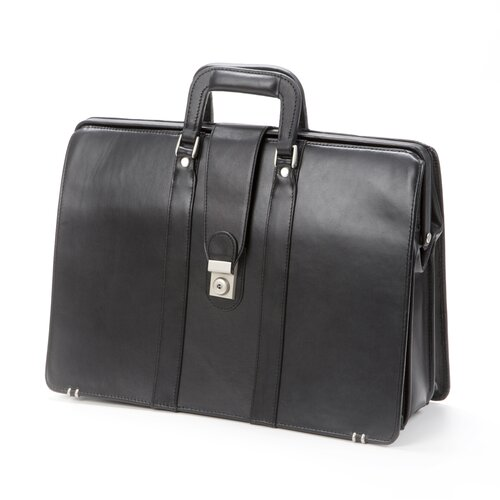 Bellino Bellino Lawyer Leather Laptop Briefcase