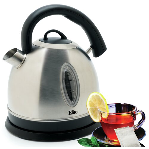 Platinum 1.8-qt. Stainless Steel Cordless Electric Water Kettle
