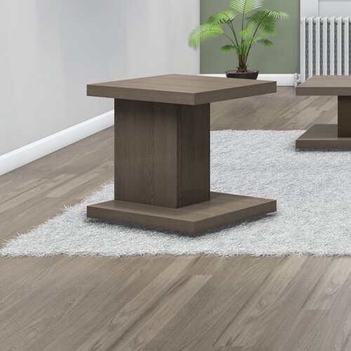 Mesa End Table with Power Station