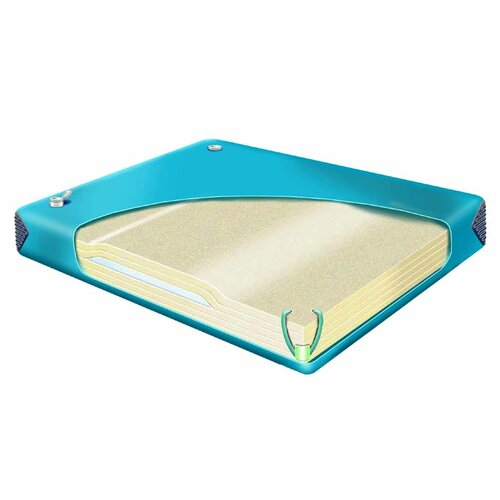 Classic Waterbeds Comfort Cloud Hardside Waterbed Mattress Bladder