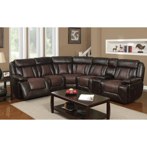 Alps Dual Reclining Sectional