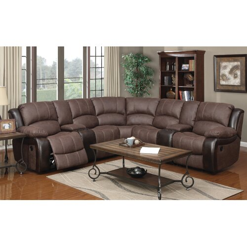 Brooks Dual Reclining Sectional