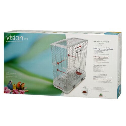 Vision by Hagen Double Medium Vision  Bird Cage with Small Wire
