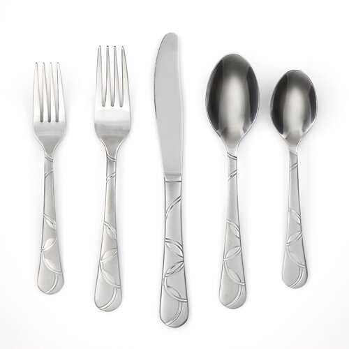 Felicity Sand 20 Piece Flatware Set