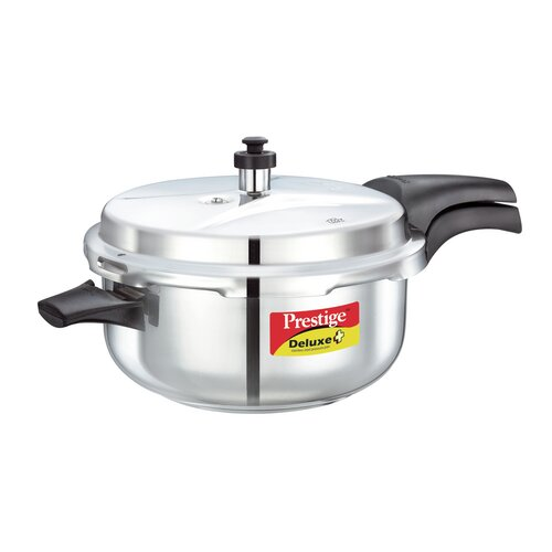 Deluxe 5.28-Quart Stainless Steel Deep Pressure Pan