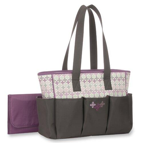 Graco Nyssa 6 Pocket Tote Diaper Bag