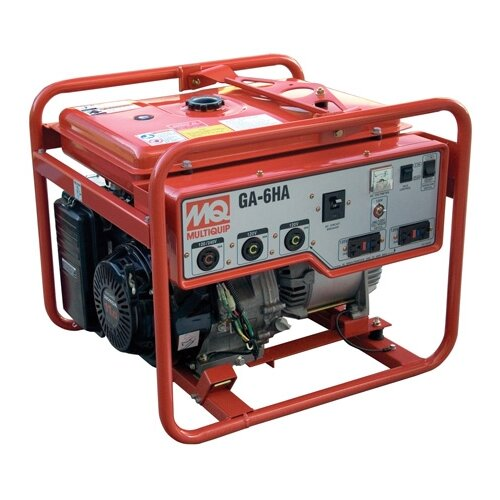 6000 Watt Gasoline Generator with Electric Start