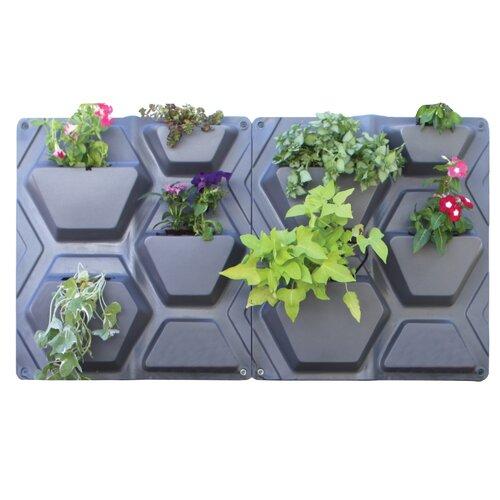 Plantscape Hex Vertical Garden Wayfair