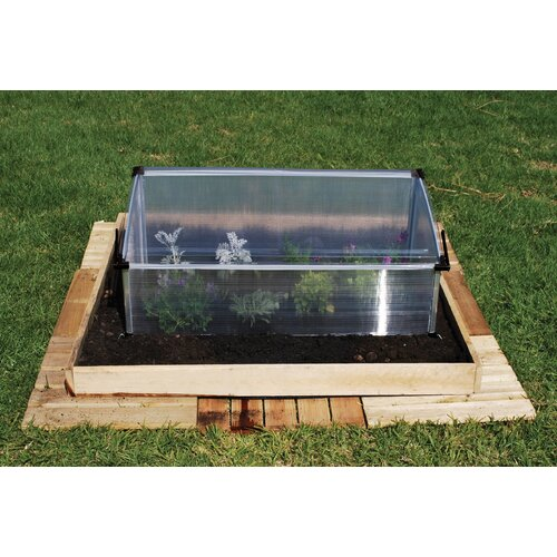 Palram Single 3.5 Ft. W X 2 Ft. D Cold Frame Greenhouse