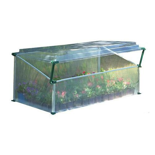 Palram Single Polycarbonate Cold Frame Greenhouse