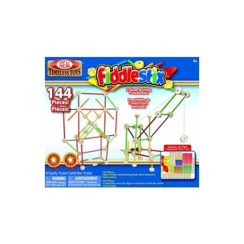 Ideal Classics Wood Construction 144 pieces Fiddlestix