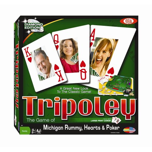 Ideal Classics Tripoley Diamond Edition Word Game