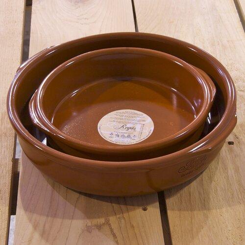 Elegant Terracotta 2 Piece Cookware Set