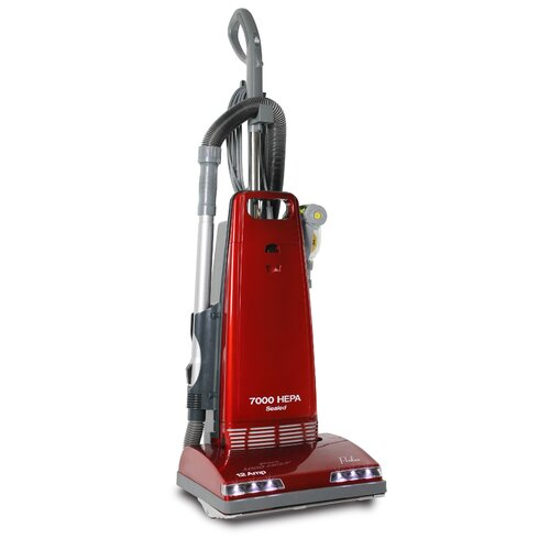 New Upright Sealed HEPA Vacuum with 12 AMP Motor on Board Tools