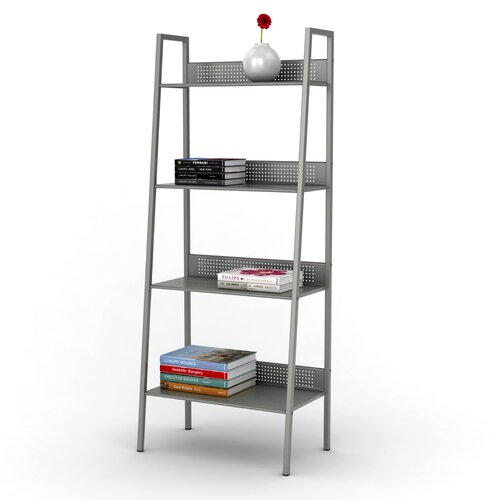 Dar Angled Ladder Shelving Bookcase Reviews Wayfair