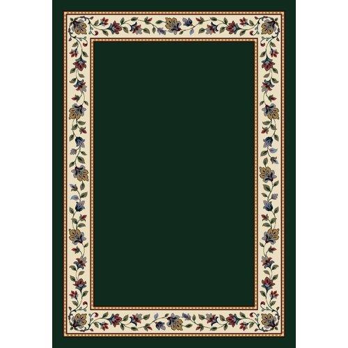 Milliken Signature Symphony Solid Emerald Solid Rug