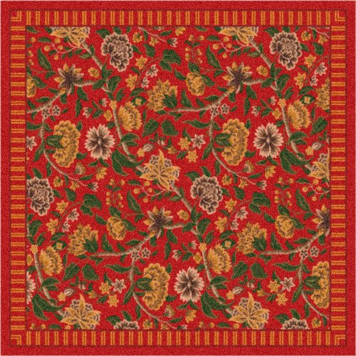Milliken Pastiche Vachell Indian Red Rug