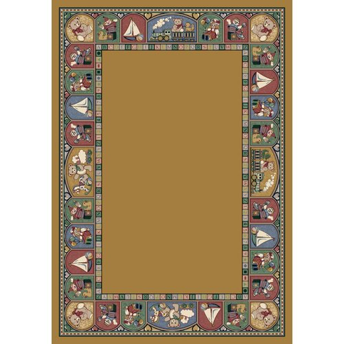 Milliken Signature Toy Parade Golden Topaz Kids Rug