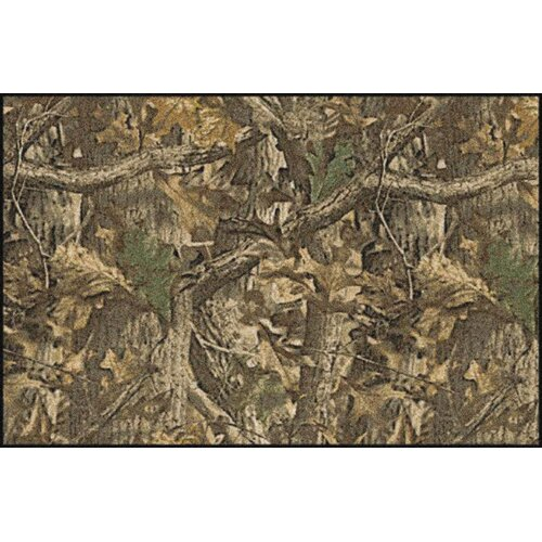 Milliken Realtree Timber Solid Camo Area Rug & Reviews