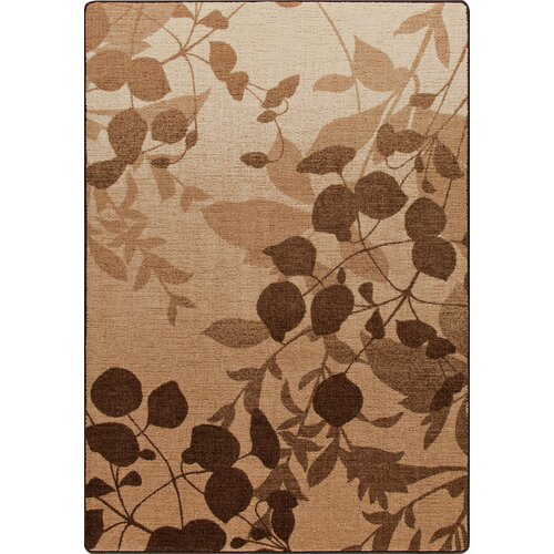 Milliken Mix and Mingle Pottery Brown Nature's Silhouette Rug