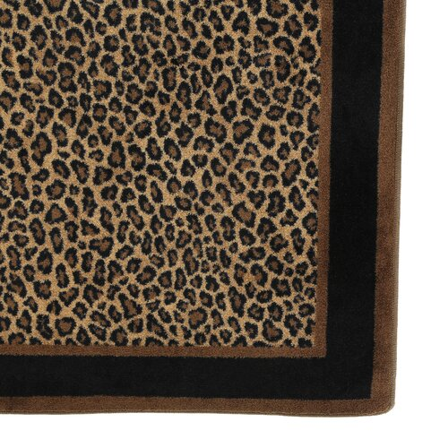 Milliken innovation leopard print zimbala area rug amp reviews wayfair