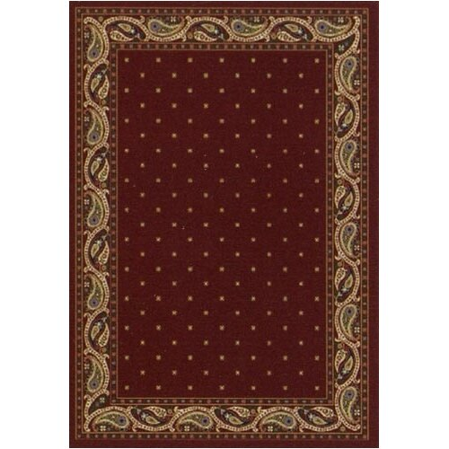 Innovation Paisley Garnet Rug