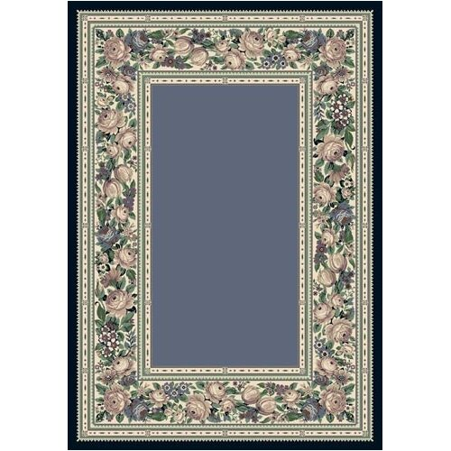 Milliken Innovation English Floral Lapis Rug