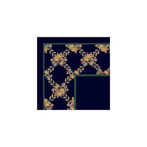 Milliken Design Center Rose Bower Sapphire Rug