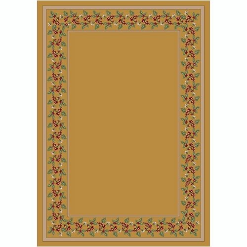 Design Center Wildberry Pale Topaz Rug