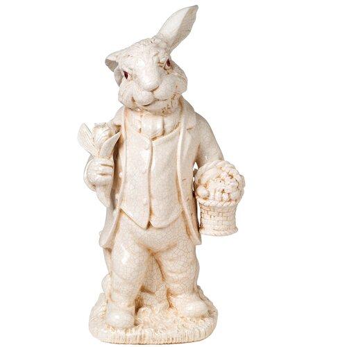 Provence Antique Rabbit Figurine