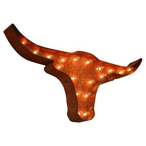 TrekDecor Icons Texas Longhorn Wall D Cor