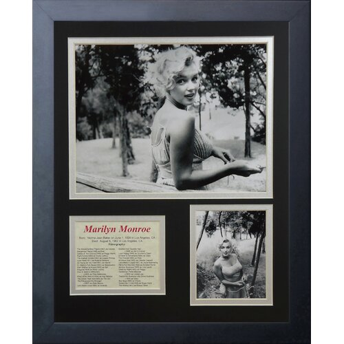 Marilyn Monroe - Fence Framed Photo Collage