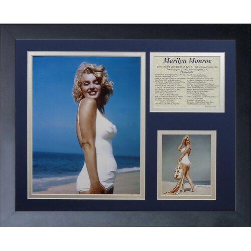 Marilyn Monroe - Beach Framed Photo Collage