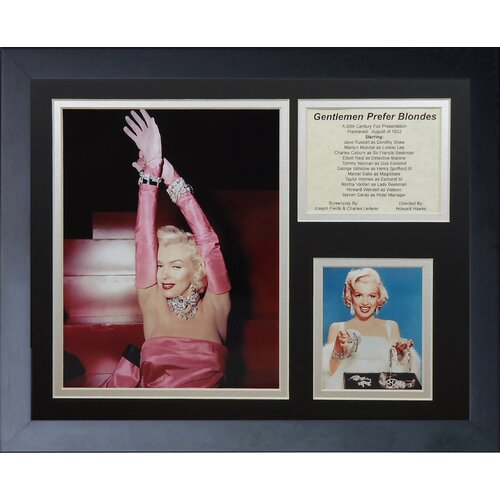 Marilyn Monroe - Blondes Framed Photo Collage