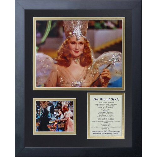Wizard of Oz - Glinda Framed Photo Collage